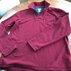 Men's pullover knit shirt